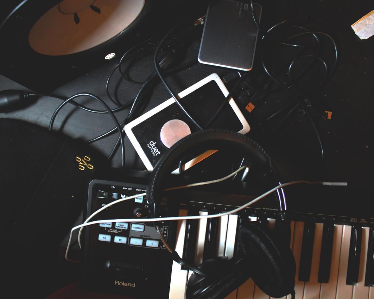 music production set